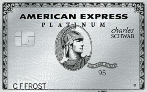 best credit cards for miles american express platinum charles schwab