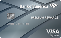 best credit cards for miles bank of america premium rewards