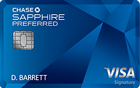 best credit cards for miles chase sapphire preferred