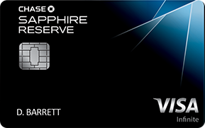 best credit cards for miles chase sapphire reserve