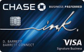 best credit cards for miles chase business preferred ink