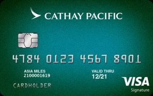 best credit cards for miles Synchrony Cathay Pacific