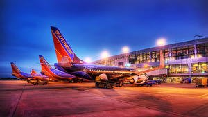 ABIA Southwest Morning; Austin Texas