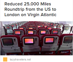 LT 25K Miles VA London