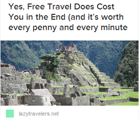 LT Cost Free Travel