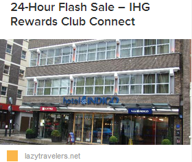 LT IHG Flash Sale