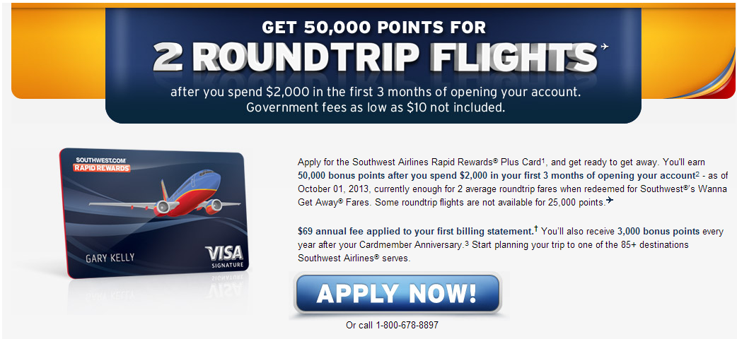 Last Day for the All Four Chase Southwest 50,000-Point Bonus ...
