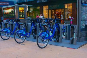 A new experiment for NYC: rent-a-bike