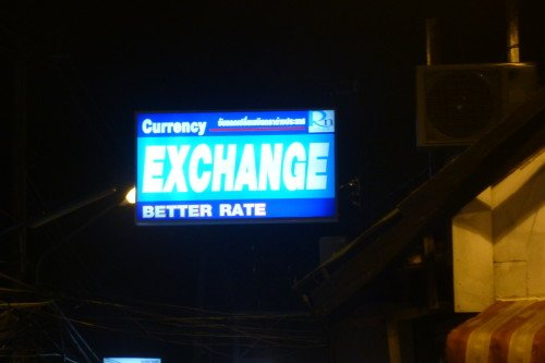 Best (not just better) Exchange Rate Booth in Lamai