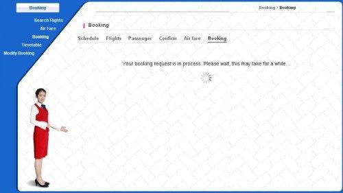 Air Koryo Booking 2