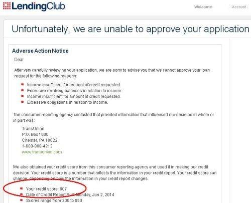 Lending Club FICO