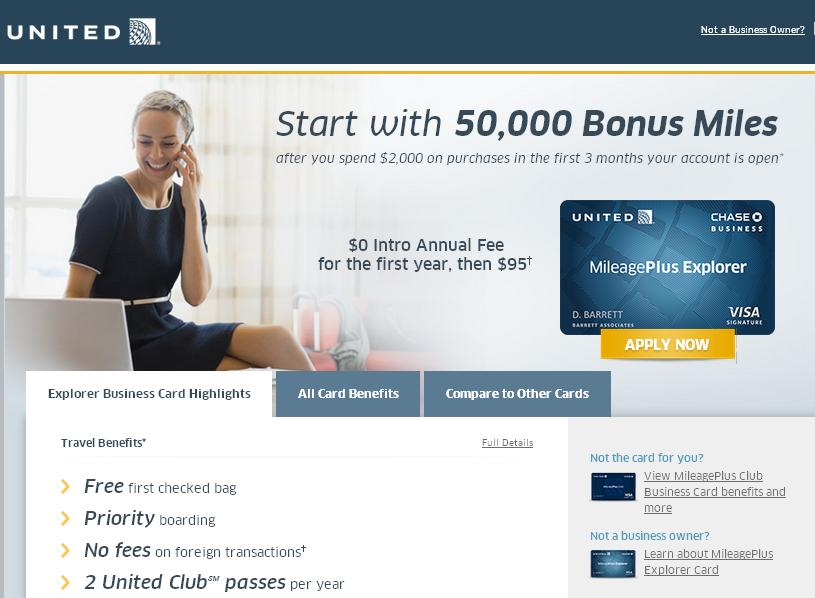 Even Better Chase United Credit Card Deal and an Update