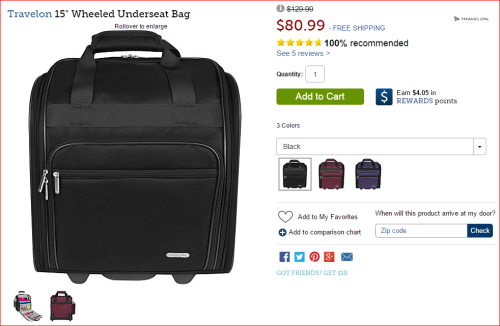 Grab A Perfect Spirit Airlines Carry On
