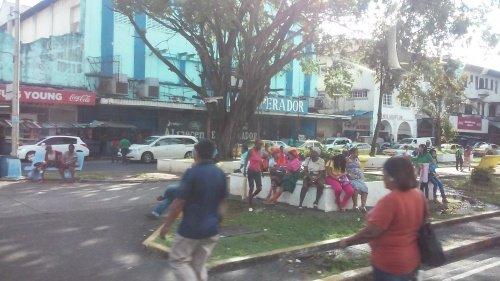 Colon, Panama: the Main Street