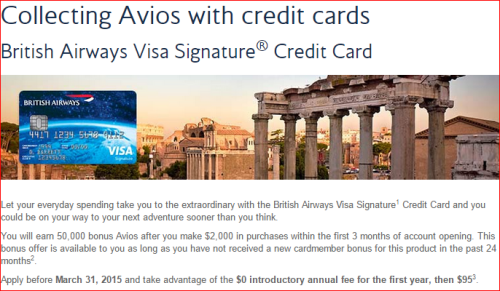 Chase British Avios No Annua Fee Offer is Extended