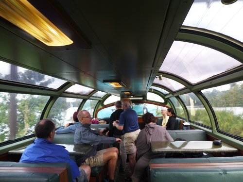 Panama Canal Train: German tourists
