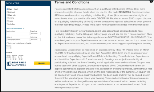 Expedia Terms and Conditions