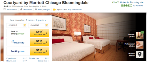 Marriott 2015 Changes: 2 to 1 --  Chicago Blumindale