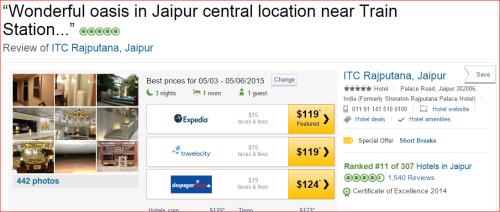 ITC Rajputana, a Luxury Collection Hotel, Ja ipur