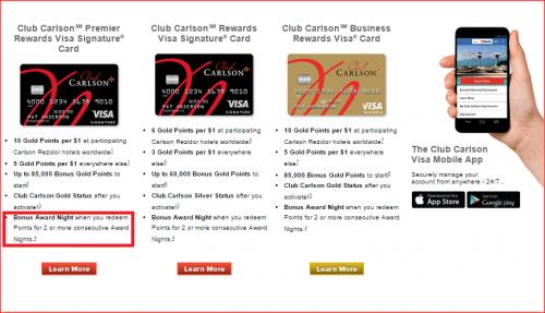 Club Carlson Devaluation
