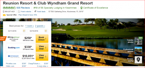 Wyndham rewards points