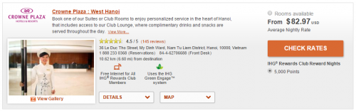 IHG Crowne Plaza PointBreaks - Hanoi West