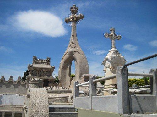 Lloret de Mar:  Modernist Cemetary