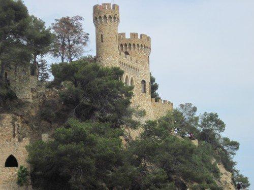 Lloret de Mar:  Castell d'en Plaja