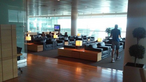 Airport Lounges: Sala VIP BCN