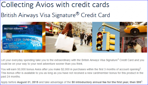 Miles Points Credit Cards Offers 6/14-6/21 Chase British Airways No Fee Offer is Extended