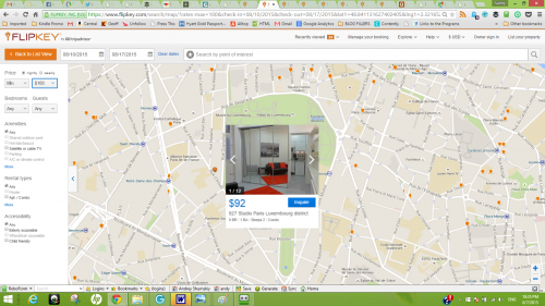 Paris Apartment FlipKey Search -- See the Price
