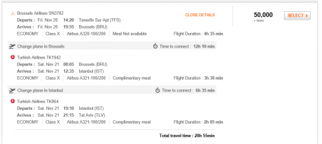 Sweet Spots in Aeroplan Award Chart Devaluation?