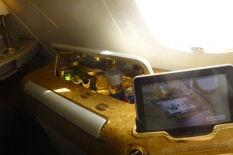 Emirates First Calss Suite: ICE Tablet Remote