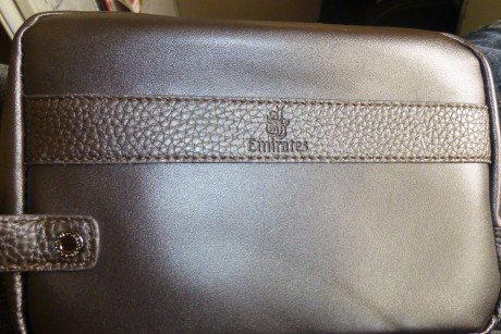 Emirates First Calss Suite:  Amenity Kit