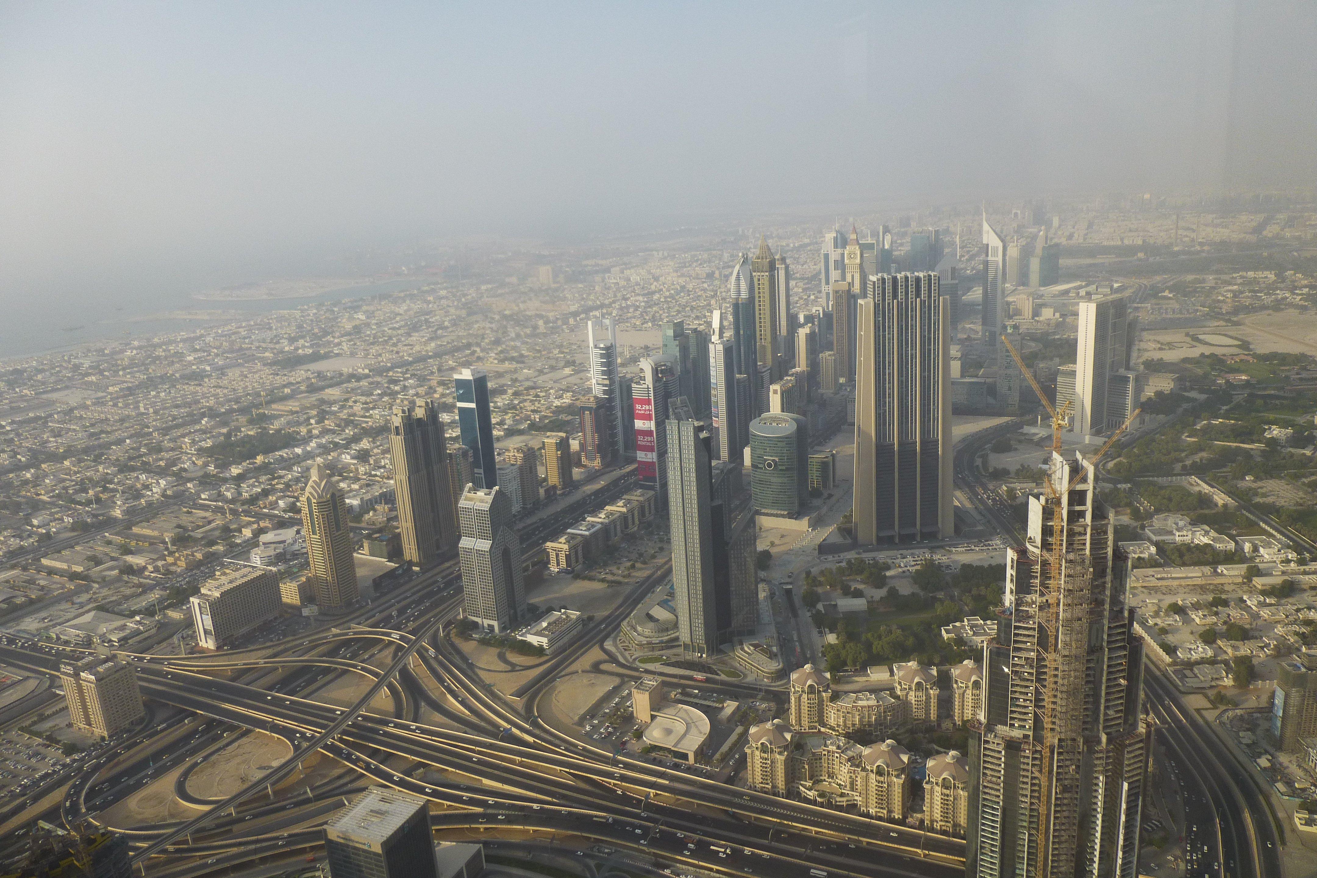 Burj Khalifa At the Top Level 124