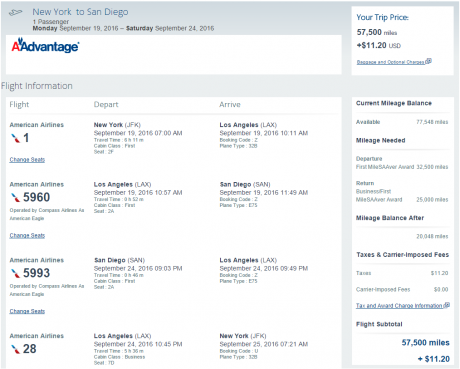 AAdvantage Reservations