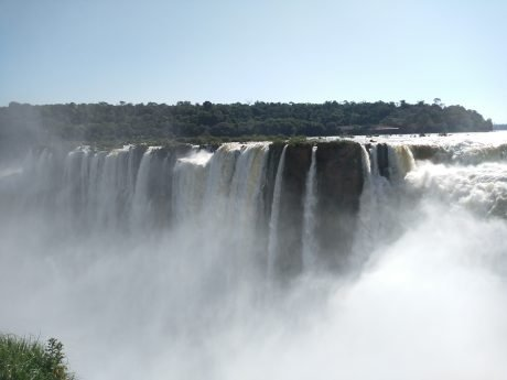 Iguassu Falls Vacation -- Devil's Throat