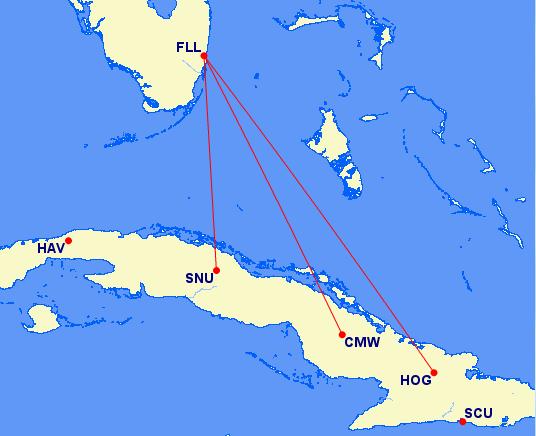 JetBlue Cuba Award Flights Offered Unparalleled Values - Where is cuba
