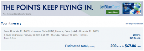 Flights to Cuba b6-mco-hav-200-and-47