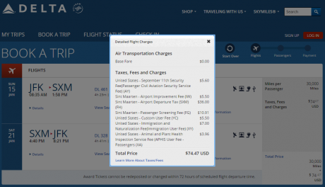 Delta Fuel Surcharge dl-jfk-smx-award-taaxes