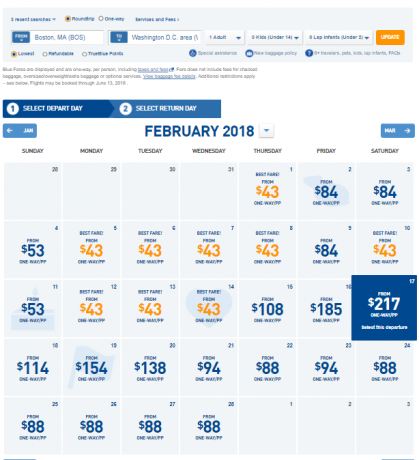 60000 JetBlue Points