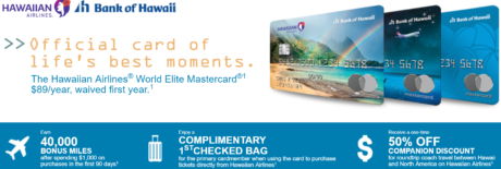Hawaiian Airlines Credit Card Offer