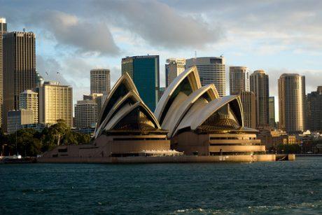 Business Class to Australia