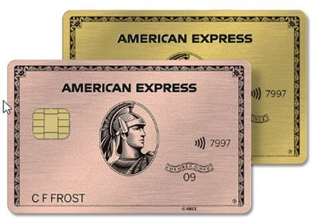 American Express Gold Card 50,000 Points