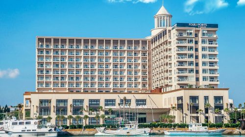 Marriott Rewards Levels -- Four Points by Sheraton Penghu: Category 3, 17,500 points