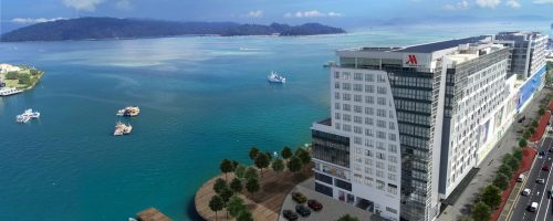 Marriott Rewards Levels -- Kota Kinabalu Marriott Hotel in Borneo: Category 2, 12,500 points
