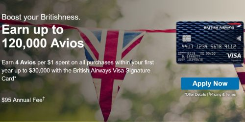 New Chase Avios card -- not a deal!