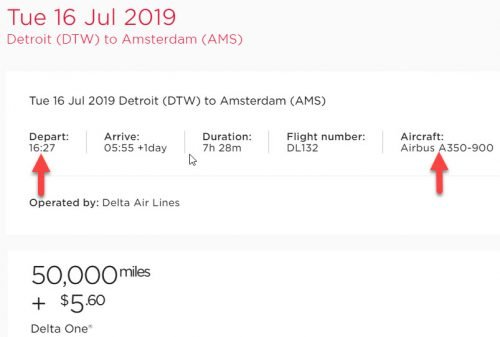 Delta One Suite to Amsterdam for 50K Virgin Atlantic Miles