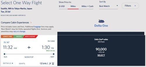Delta SkyMiles Deals