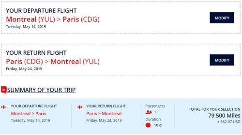 amex flying blue transfer bonus 64,000 Amex points from Canada to Europe